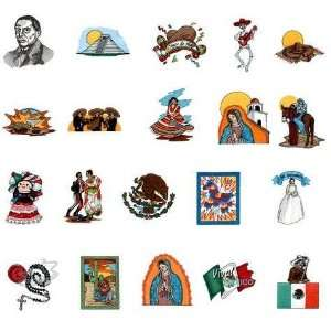 Embroidery Machine Designs CD VIVA MEXICO 1 Kitchen
