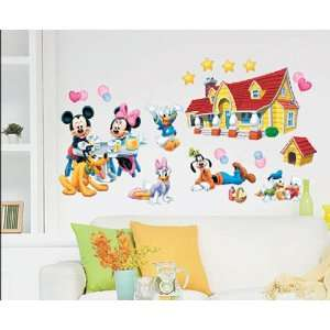 Donald Goofy Pluto Wall Sticker Decal for Baby Nursery Kids Room Baby