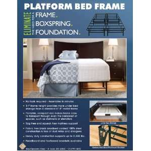 Boyd Twin Size 14 Metal Platform Bed Frame