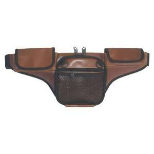 Concealed Carry Fanny Pack BUFFALO LEATHER   Brown Sports & Outdoors