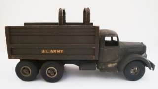 Vintage SMITH MILLER L MACK ARMY PERSONNEL CARRIER 1950s Old Toy