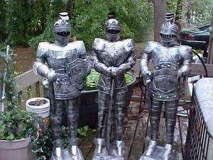 Foot Suit of Armor Medieval fantasy Knight Brand NEW