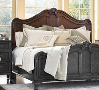 Furniture Vintage Chateau King Panel Headboard for Bed