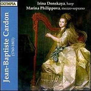 de la harpe: Jean Baptiste Cardon, Irina Donskaya, Marina Philippova