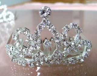 Wholesale 6pcs Prom/Bridal/Act Rhinestone TIARA Crowns