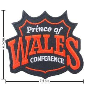 NHL Wales Conference Logo Iron On Patches: Everything Else