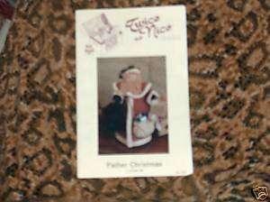 Father Christmas 11 Santa Doll Pattern   Twice as Nice