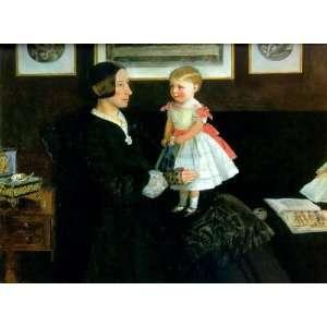 Portrait of Mrs James Wyatt, By Millais John Everett