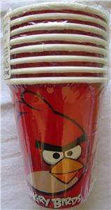 IPOD APP ANGRY BIRD PARTY SUPPLY CUPS PLATES NAPKINS TABLE COVERS SETS