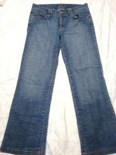 Womans Eddie Bauer Stretch Flare Jeans Size 8