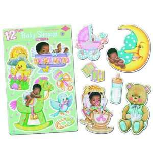 Black Baby Shower Punchouts Case Pack 120: Everything Else