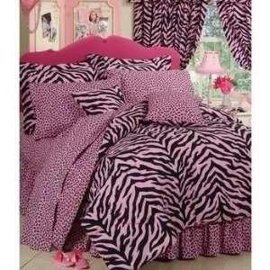 Karin Maki Zebra Full Complete Bedding Set   Pink
