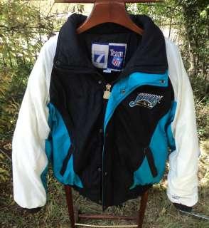 Jacksonville Jaguars NFL Puffy Coat Parka Jacket Logo7 size XL EUC