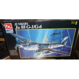 Junkers Ju 88 G 1/g6 German Bomber Wwii By AMT 1:72: Toys