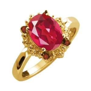 2.32 Ct Last Dance Pink Mystic Quartz Diamond Yellow Gold