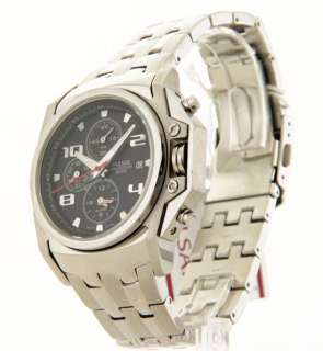PULSAR MENS STAINLESS STEEL CHRONO DATE CASUAL ALARM PF3839