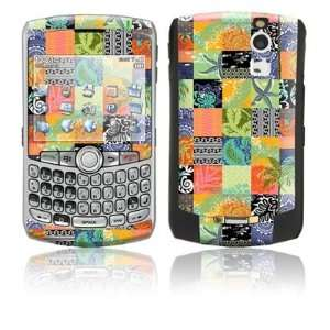Tropical Patchwork Design Protective Skin Decal Sticker