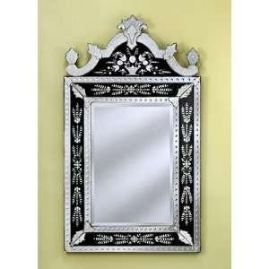 Natasha Large Wall Mirror in Black