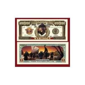 Set of 10 Bills Viking Million Dollar Bill Toys & Games