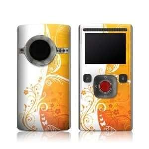 Orange Crush Design Protective Skin Decal Sticker for Flip ULTRA 2nd