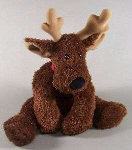 Hallmark Jingle Bell Reindeer Stuffed Plush Christmas