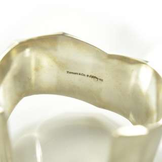 TIFFANY & CO Sterling Silver Frank Gehry TORQUE Cuff