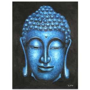 Meditation Relived~Buddha Paintings~On Canvas~Art: Home