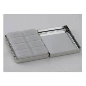 DAYS A WEEK PILL BOX   8 DAYS A WEEK PILL BOX, NICKEL PLATED