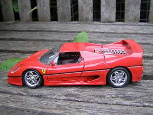 VINTAGE FERRARI FSO MAISTO RACING CAR METAL DIE CAST