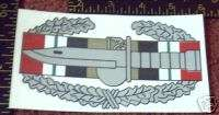Combat Action Badge, Iraq, CAB , Decal, OIF, OEF, Army