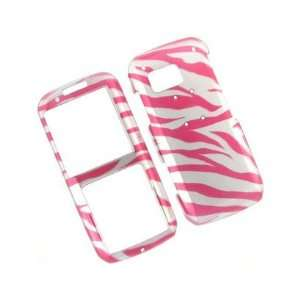 Durable Plastic Design Phone Case Cover 2D Hot Pink Zebra For Samsung