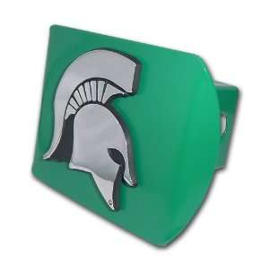 Michigan State University Spartans Green with Chrome Spartan