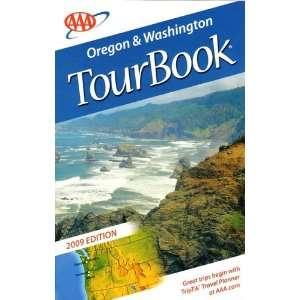 Oregon & Washington Tour Book 2009 edition AAA Books