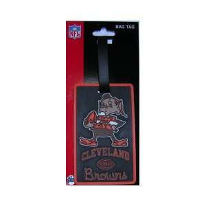 Cleveland Browns Brownie Elf Luggage Tags/Bag Tags Sports