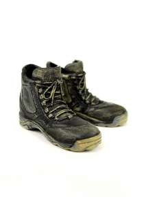 FB116 Figure Footwear  Hot Toys Black Hiking Boots