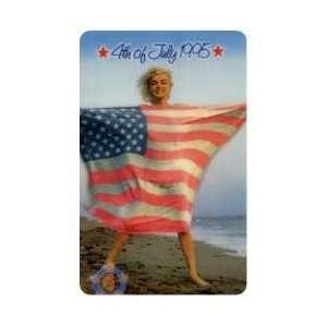 Marilyn Collectible Phone Card $3. Marilyn Monroe On