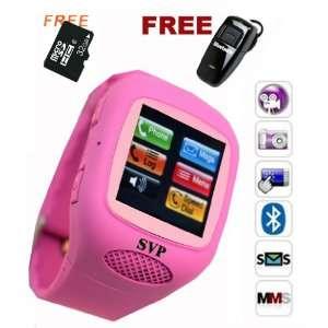 G13 Pink (Micro 32GB) GSM Quadband Watch Phone (Unlocked