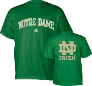 Notre Dame Fighting Irish adidas Kelly Green Relentless T Shirt