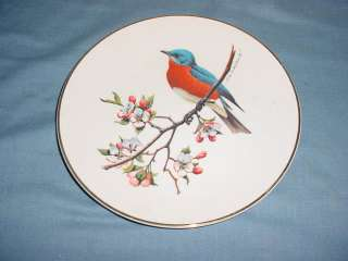 Avon Bluebird North American Songbird Plate