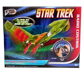 Tyco R/C Star Trek Remote Control Vehicle Flying Klingon Bird of Prey