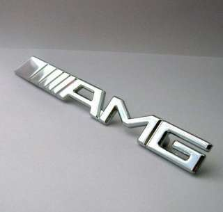 Car 3D Metal Grill Emblem Logo Badge Front Gille BENZ AMG sG10