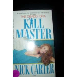 Killmaster 245/ Deadly Diva (9780515098747) Nick Carter Books