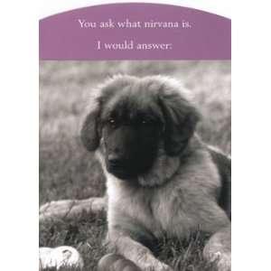 German Shepherd Puppy Friendship Card