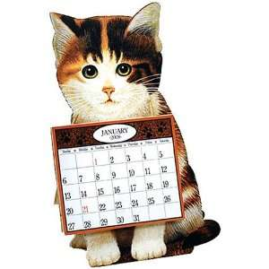 Herrero, Lowell American Cat 2008 Easel Desk Calendar: Office Products