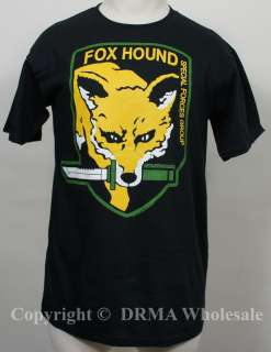 METAL GEAR SOLID MGS Foxhound Logo T Shirt S M L XL XXL NEW
