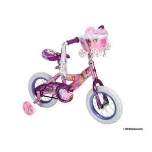 Huffy 12 Inch Girls Disney Princess Bike (Shimmer Pink/Glitter Pink
