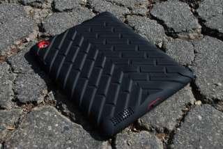 Gumdrop DROP TECH SERIES iPad 2/3 Case BLACK RED NEW VERSION