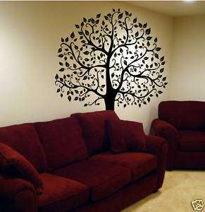 FT. BIG TREE WALL DECAL Deco Art Sticker Mural