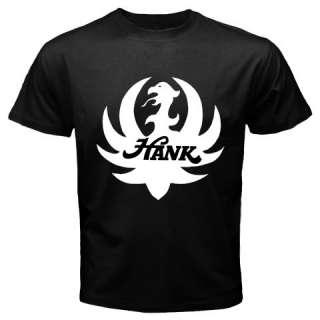 New Hank Williams Jr. Bocephus Logo black T shirt s 3XL