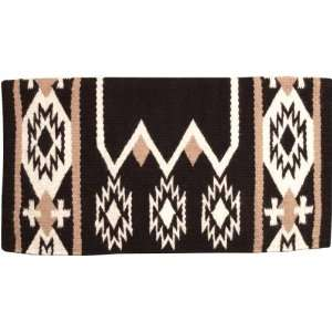 Laredo Navajo Saddle Blanket   34 x 36 Black/White Sports